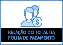 Relação do total da folha de pagamento
