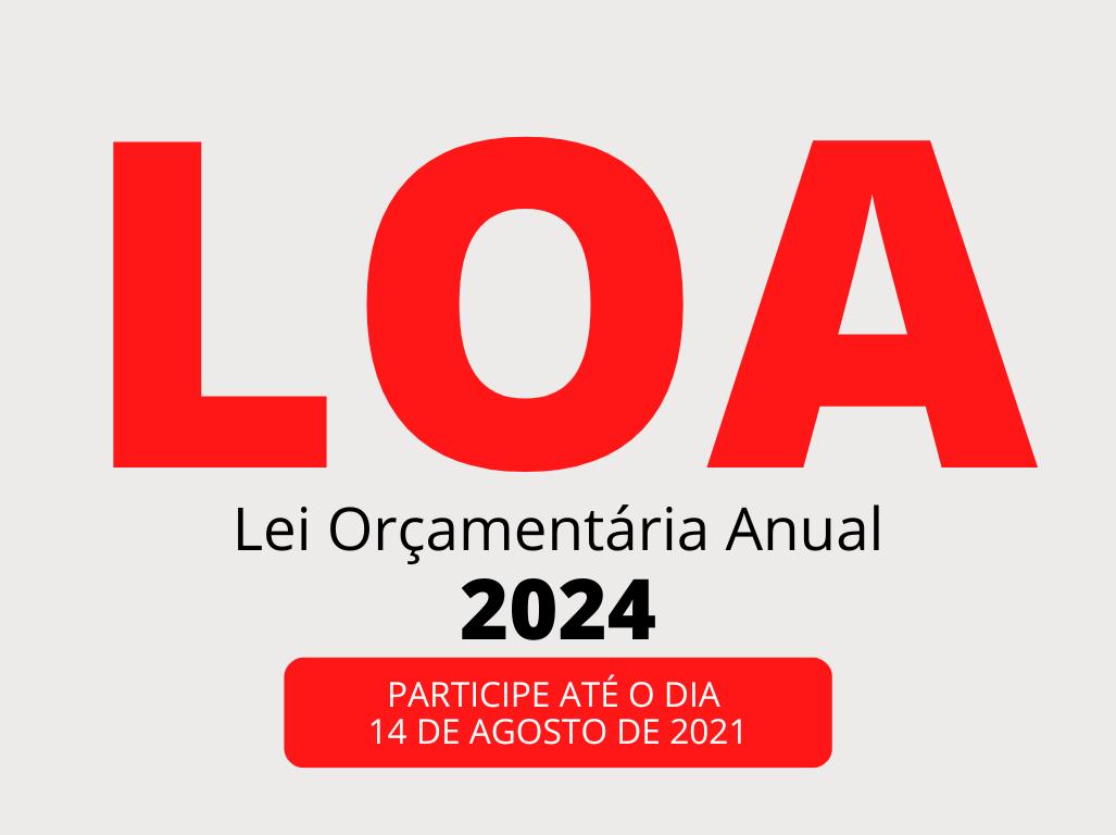 Participe da sugestão da Lei de Diretrizes Orçamentárias (LDO)