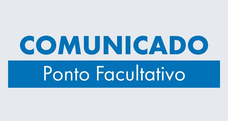 PONTO FACULTATIVO - 01/11/2019