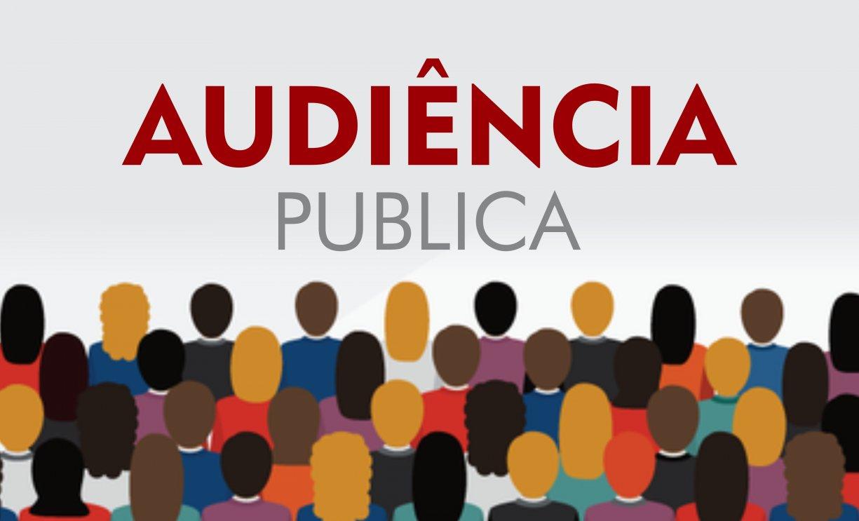EDITAL DE CONVOCAÇÃO PARA AUDIÊNCIA PÚBLICA - 09 DE AGOSTO DE 2019.