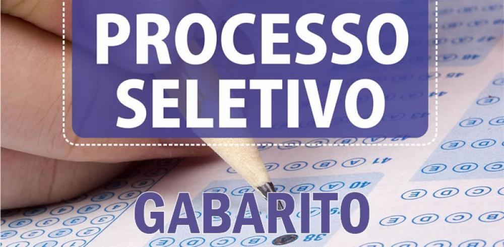 GABARITO PRELIMINAR DO PROCESSO SELETIVO SIMPLIFICADO - ESTÁGIO REMUNERADO - MAGISTÉRIO